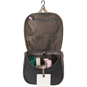 Sea to Summit Hanging Trousse de toilette L, black/grey